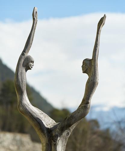 Schnitzkunst am Martinsbühel - Zirl, Tirol
