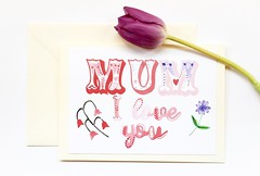 Mum I love you Mother's day handmade greeting card-4 (roisin.grace) Tags: greetingcards greetingcard handmade handpainted handmadecards handpaintedcards happymothersday mothersday mothersdaycard lovecards lovecard