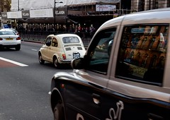 'Fiat 500' (Andrew.Rough_) Tags: fiat 500 fiat500 small italy london nikon d3300 photography action shot colours cars italian londoncars carspotting daytime street kingscross