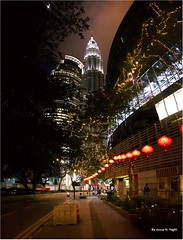 KLCC nights1 (Ahmed N Yaghi) Tags: klcc malaysia kuala lumpur night nights city lanterns chinese twin towers lights lamps pulps ماليزيا