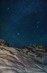 Look at the stars (aurlien.leroch) Tags: nikon astroscape landscape stars night snow winter montagne longexposure lamongie tourmalet hautespyrénées france