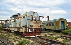 80-0375-4 CFR Marfa (Vlady 29) Tags: ldh diesel horn hydraulic locomotive romania railway rail railroad train tren cfr faur 23 august dej summer vara conservat marfa