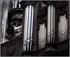 Orgues (Focalexpo) Tags: fujifilm fuji xt10 fujinon 35f2 orgues statues cathédrale rouen