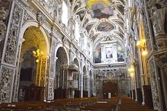 Interno della chiesa del Gesù o Casa Professa: vista dall'altare (costagar51) Tags: palermo sicilia sicily italia italy arte storia anticando