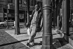Market Street, 2016 (Alan Barr) Tags: philadelphia 2016 marketstreet marketstreeteast marketeast street sp streetphotography streetphoto blackandwhite bw blackwhite mono monochrome candid people face portrait candidportrait ricoh gr