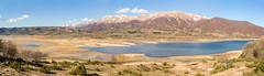 Panoramica-campotosto- (Giancarlo Vetrone) Tags: campotosto abruzzo laquila lago lake acqua water montagna mountain terremoto earthquake