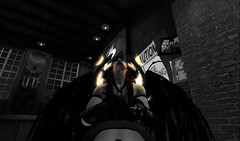 Tainted Religion (Ranmyaku Haiku) Tags: secondlife sl slcreation antihero dark comic comicbook demon devil dreads dirty dank evil eyes filthy game good gritty hellfire king villian villians illuminati kingnero