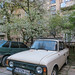 Old Cars in Hidden Courtyards | Lviv
