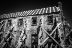 Cotton Gin at Boone Hall Plantation (HD_Keith) Tags: bw architectural architecture blackwhite blackandwhite building edifice edifices historic historical structures mountpleasant sc usa