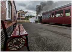Spirited Start (Terry 47401) Tags: 040st colin mcandrew chasewater railway heaths station brownhills church street steam engine train preserved