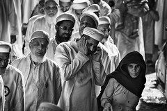 The intruder (Feca Luca) Tags: street reportage festival religion religione muslim blackwhite backlight controluce people india asia rajasthan travel