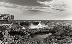 Dwejra Gozo Malta. (Owen Piscopo) Tags: nikon nikond750 nikon2470f28 landscape seascape gozo malta owenpiscopo dwejra sea
