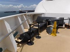 Norwegian Pearl spare anchor (Hear and Their) Tags: norwegian pearl panama canal gatun lake