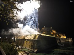 Easter in Corfu- Fireworks (ginavd) Tags: corfu greece visitgreece easter traditions fireworks firework nightsky night nikon nikonphotography natgeo nationalgeographic photojournalism celebration celebrations