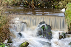 After the rain came (andythomas390) Tags: waterfall weir rain flowing yorkshiredales embsay nikon d7000 18200mm