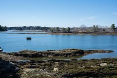 bailey island maine-14 (heather morris photography) Tags: maine coastalmaine newengland outmywindow ocean atlantic water coastline rocks beach spring