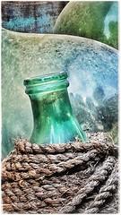 Damigiane (Livio Saule) Tags: damigiane colore vetro verde grunge creativo