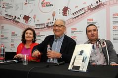 Clara Sánchez, Fernando Delgado i Carlos Marzal 28/04/17