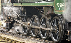 SEVERN VALLEY RAILWAY SPRING GALA (chris .p) Tags: svr gala severnvalleyrailway nikon d610 stram capture spring 2017 9f march shropshire england highley uk 92214 railways