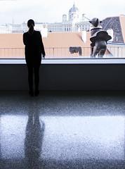 Looking (CoolMcFlash) Tags: window reflection floor mumok mq museumsquartier vienna austria museum pinoccio city person woman canon eos 60d silhouette fenster spiegelung boden wien österreich indoors stadt view aussicht frau standing stehen fotografie photography sigma 1020mm 35 art kunst
