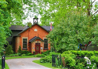 Elora Ontario Canada ~ Former School House ~ Heritage  Building.