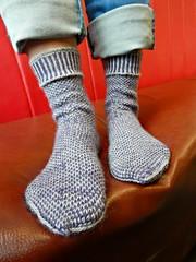 Stripodots9 (Horosho.Gromko.) Tags: socks feet knitting knittedsocks knitty knittymag legs stripodot
