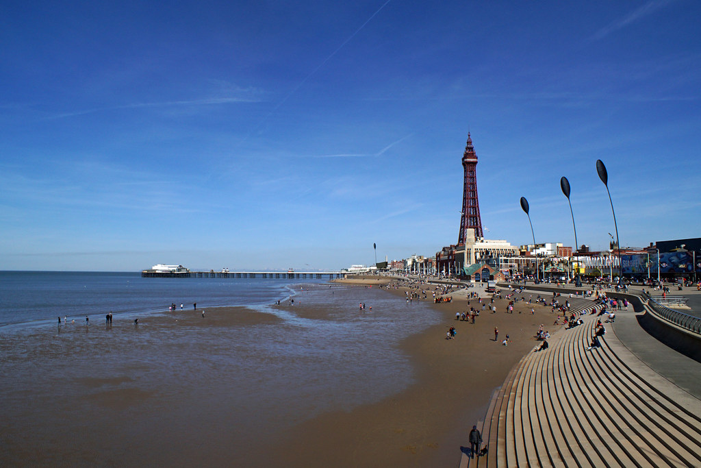 Lovely sunny Sunday in Blackpool