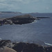 Bendrick Rock and Sully Island from west of Cadoxton River. 8th August 1979