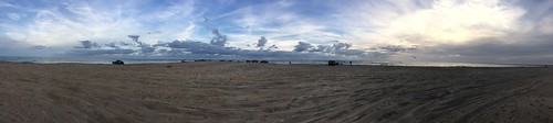 Cape Hatteras Spit Panorama