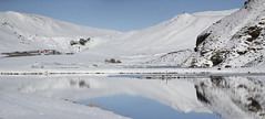 Iceland. (richard.mcmanus.) Tags: iceland arctic vik ice snow reflection landscape panorama mcmanus mountains