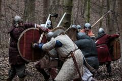 Smash them! (Crones) Tags: canon 6d canoneos6d canonef70200mmf28lisusm canon70200mmf28l 70200mmf28lisusm 70200mmf28 70200mm f28l viking vikings czech czechrepublic praha prague weapon shield sword