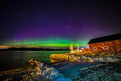 Aurora  came to see us (Richard Larssen) Tags: richard richardlarssen rogaland reflection alpha a7ii aurora auroraborealis norway norge norwegen nature night northern norternlights coast larssen landscape astrophotography astro egersund eigersund eigeroy eigerøy emount samyang samyang14mmf28 14mm borealis sea teamsony