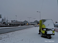 Amsterdam CS 12-2-17 (kees.stoof) Tags: amsterdam cs sneeuw snow winter