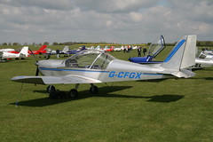 G-CFGX EV97 teamEurostar UK (nickthebee) Tags: ev97 eurostar ev97flyin2017 sywell