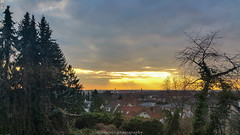 Heidelberg February Sunset  - 2017 I (boettcher.photography) Tags: sunset sonnenuntergang sonne sun abend evening sky himmel februar february 2017 heidelberg badenwürttemberg deutschland germany sashahasha boettcherphotography