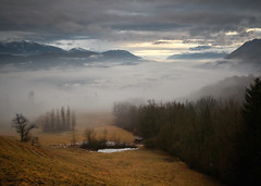 Brouillard sur la Combe (GhislainPras) Tags: savoie combedesavoie brouillard fog clouds winter