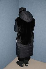 Slave Waitress (Buses,Trains and Fetish) Tags: slave waitress maid apron hot winter sweat torture anorak coat fur niqab hijab burka chador girl boots