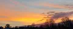 Sunrise over Greensburg, PA (bretkreiger) Tags: sunrise pretty orange bright vibrant colorful nikon d3200 morning greensburg pennsylvania 40mm