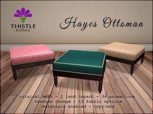 Thistle Hayes Ottoman