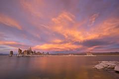 Sunset, Mono Lake Tufa State Natural Reserve, California (www.clineriverphotography.com) Tags: california usa monolaketufastatenaturalreserve 2016 monocounty tufaformations location sunrisesunset rockformations light