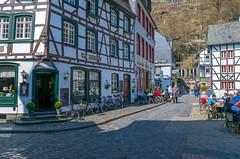 Monument (Zinaida Belaniuk) Tags: monschau germany spring 2017 town