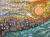 Glasgow Central mosaic (markshephard800) Tags: kleuren farben couleurs colors colours fluidity fluid flows flowing movement moving tiles glasgowcentral scotland glasgow mosaic art sun sunset sunrise