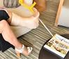 cast & heel (cast'n_heels) Tags: plastercast platform piedoplatre gipsbein slwc gehgips heel gesso highheel