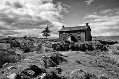 Nun's Cross Farm (Project 17/52) (Frosty__Seafire) Tags: nun nuns cross farm dartmoor black white landscape d7000 sigma 1020 devon