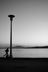 running (Smaragdi Loizou) Tags: man run sea activity
