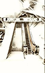 West Portal Station, San Francisco Muni Metro (sftrajan) Tags: westportalstation sanfranciscomunimetro edited sanfrancisco munimetro 2017 bredacars subway transit transport ubahn california cameraphone