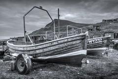 Skinningrove, North Yorkshire (DM Allan) Tags: skinningrove coast northyorkshire boats monochrome clevelandway