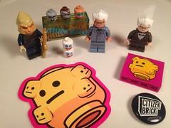 Citizen Brick Day IV (WhiteBrix) Tags: citizen brick day iv chicken enthusiast extra crispy colonel planet apes