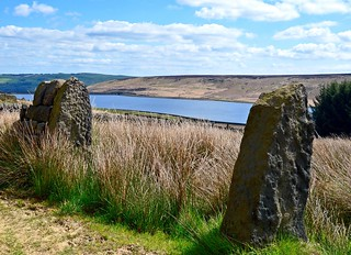 Withens Clough Reservoir.