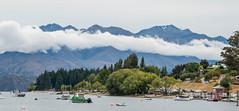 Glendhu Bay (Ard Buurmans) Tags: cloud glendhubay island mountain nz nature newzealand nikond3200 otago south southisland tamron16300mmf3563diiivcpzdmacro tree water